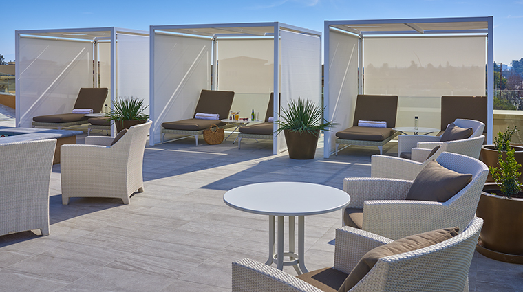 Property TheClementHotel Hotel PublicSpaces RooftopPoolCabanas TheClementHotel