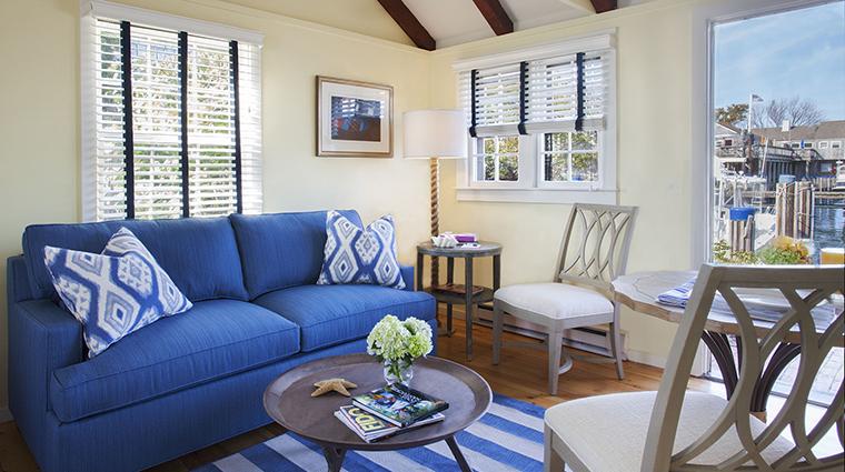 Property TheCottages&LoftsattheBoatBasin OneBedroomRamblerCottageLivingArea NantucketIslandResorts