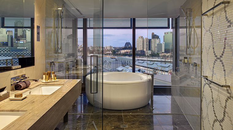 Property TheDarlingHotelattheStarSydney Hotel GuestroomSuite AdoredSuiteBathroom TheStarEntertainmentGroup
