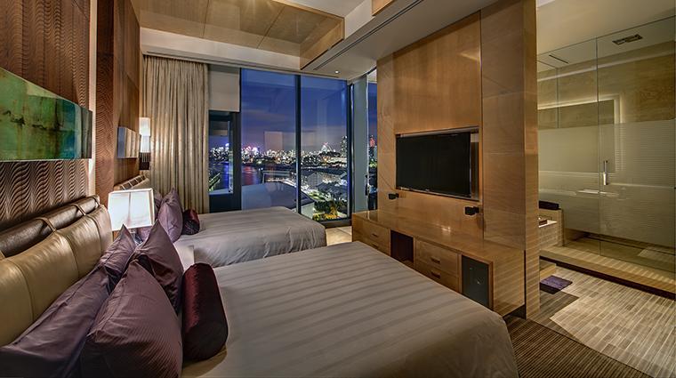 Property TheDarlingHotelattheStarSydney Hotel GuestroomSuite PenthouseBedroom TheStarEntertainmentGroup