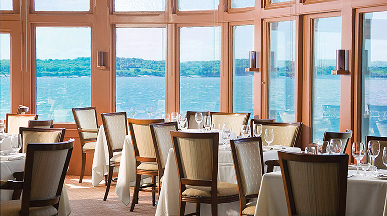 The Dining Room At Castle Hill Inn Rhode Island