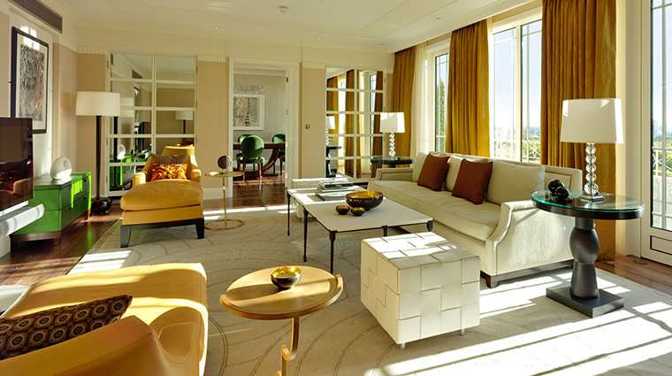 Property TheDorchester Hotel GuestroomSuite HarlequinSittingRoom DorchesterServicesLimited