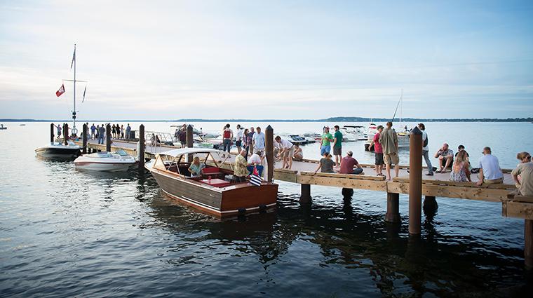 Property TheEdgewater Hotel Activites BoatDock TheEdgewater