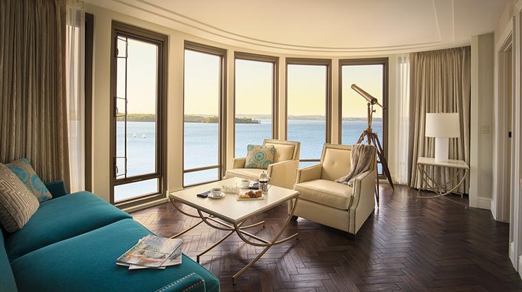 Property TheEdgewater Hotel GuestroomSuite PresidentialSuiteLivingRoom TheEdgewater