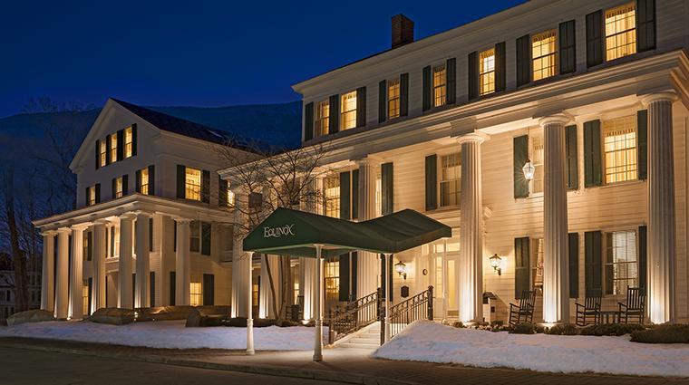 Property TheEquinoxResort&Spa Hotel Exterior WinterExterior StarwoodHotels&ResortsWorldwideInc