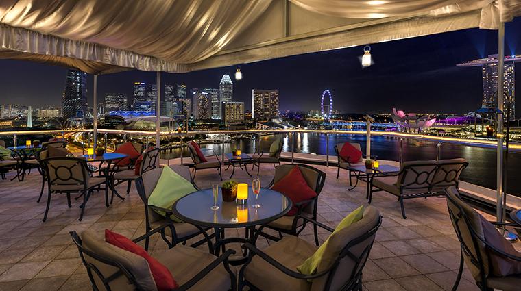 Property TheFullertonHotelSingapore Hotel Dining TheLighthouseRestaurantandRooftopBar TheFullertonHotelSingapore