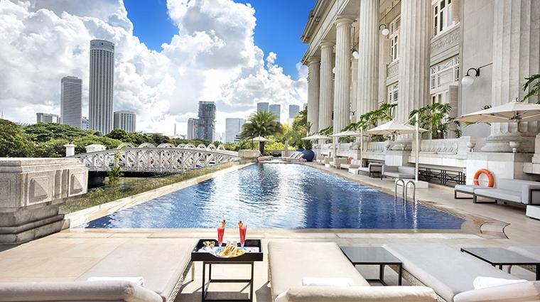 Property TheFullertonHotelSingapore Hotel PublicSpaces InfinityPool TheFullertonHotelSingapore