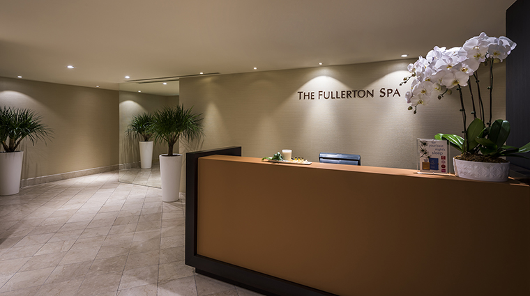 Property TheFullertonSpa Spa Reception TheFullertonHotelSingapore