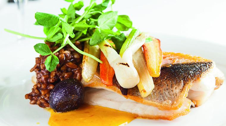 Property TheGrillatTheRitzCarltonNaples Restaurant Dining BranzinoEntree TheRitzCarltonHotelCompanyLLC
