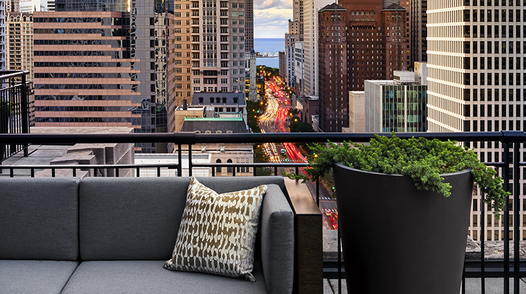Property TheGwen Hotel GuestroomSuite TerraceView StarwoodHotels&ResortsWorldwideInc