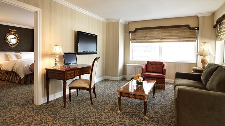 Property TheKimberlyHotel Hotel GuestroomSuite LuxuryOneBedroomLivingroomALine TheKimberlyHotel