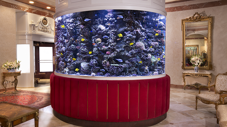 Property TheKimberlyHotel Hotel PublicSpaces LobbyAquarium TheKimberlyHotel