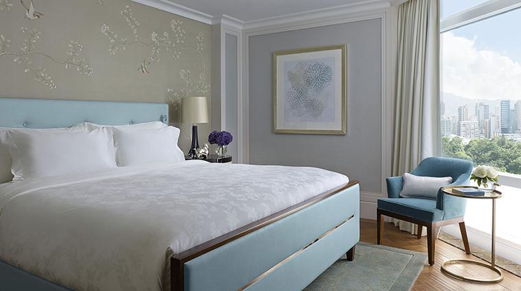 Property TheLanghamHongKong Hotel GuestroomSuite LanghamSuiteBedroom LanghamHotelsInternationalLimited