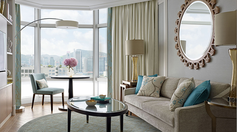 Property TheLanghamHongKong Hotel GuestroomSuite LanghamSuiteLivingRoom LanghamHotelsInternationalLimited