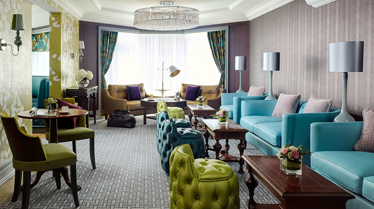 Property TheLanghamHongKong Hotel PublicSpaces TheLanghamClubSeating LanghamHotelsInternationalLimited