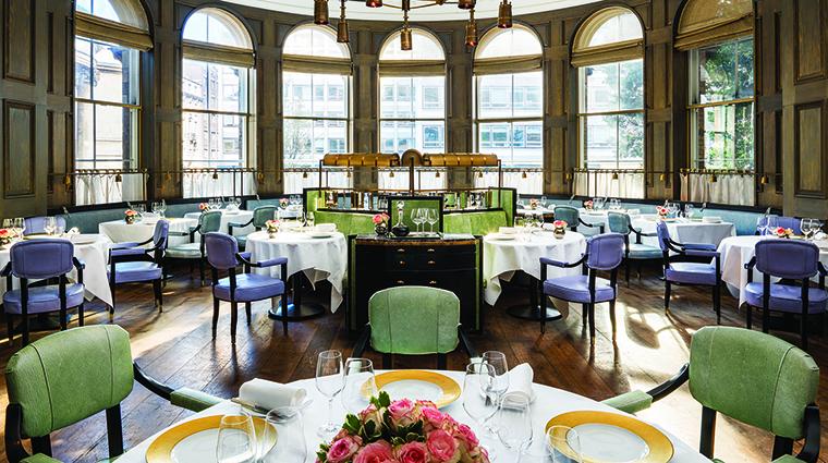 Property TheLanghamLondon Hotel Dining RouxatTheLandau LanghamHotelsInternationalLimited