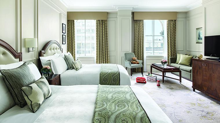 Property TheLanghamLondon Hotel GuestroomSuite FamilyRoom LanghamHotelsInternationalLimited