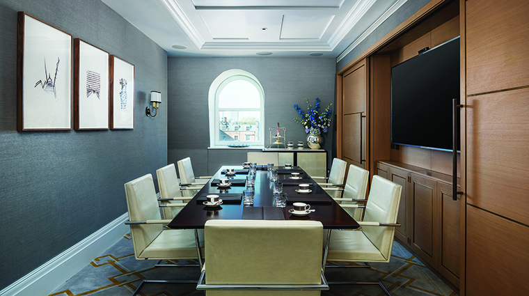 Property TheLanghamLondon Hotel PublicSpaces LanghamBoardroom LanghamHotelsInternationalLimited