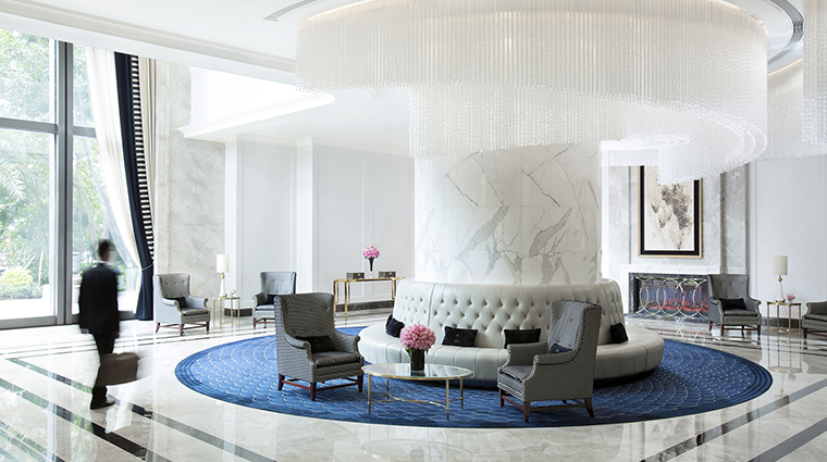 Property TheLanghamShenzhen Hotel 1 PublicSpaces Lobby CreditLanghamHotelsInternationalLimited