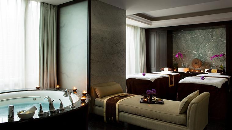 Property TheLanghamShenzhen Hotel 12 Spa ChuanSpa Style CouplesTreatmentRoom CreditLanghamHotelsInternationalLimited
