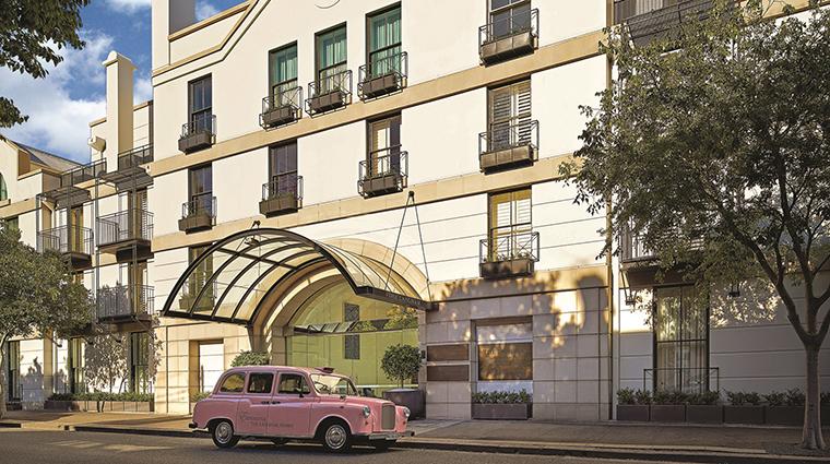 Property TheLanghamSydney Hotel Exterior ExteriorwithPinkTaxi LanghamHotelsInternationalLimited