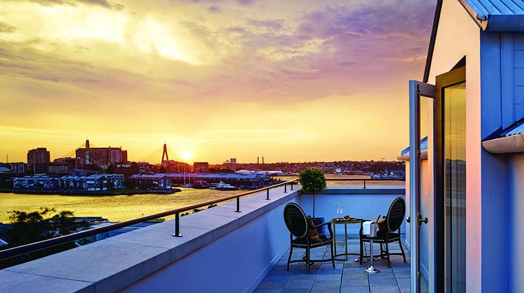 Property TheLanghamSydney Hotel GuestroomSuite TerraceSuiteView LanghamHotelsInternationalLimited