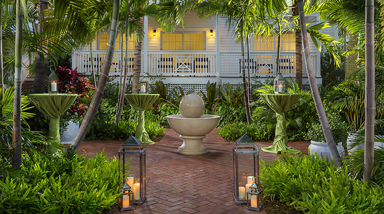 Property TheMarkerWaterfrontResort Hotel PublicSpaces GardenReception TheMarkerResortKeyWest