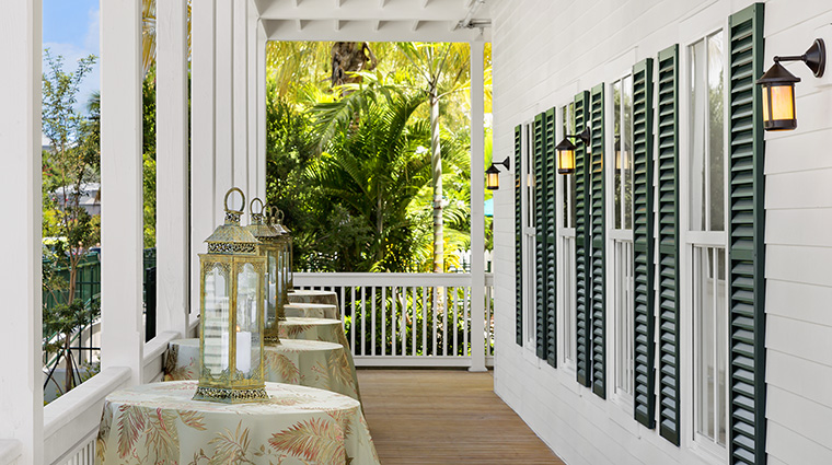 Property TheMarkerWaterfrontResort Hotel PublicSpaces PorchReception TheMarkerResortKeyWest