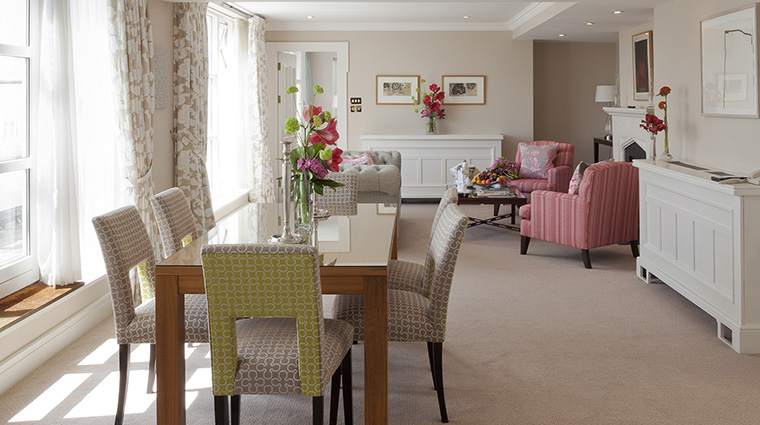 Property TheMerrion Hotel GuestroomSuite ThePenthouseSuiteLivingRoom TheMerrionHotel