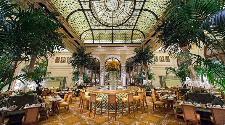 Property ThePalmCourt Restaurant InteriorDiningRoom FairmontHotelsandResorts