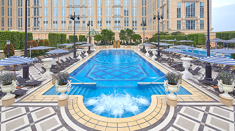 Property TheParisianMacao Hotel PublicSpaces OutdoorPool VenetianCotaiLimited