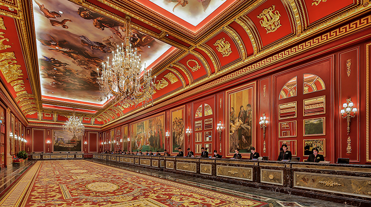 Property TheParisianMacao Hotel PublicSpaces Reception VenetianCotaiLimited