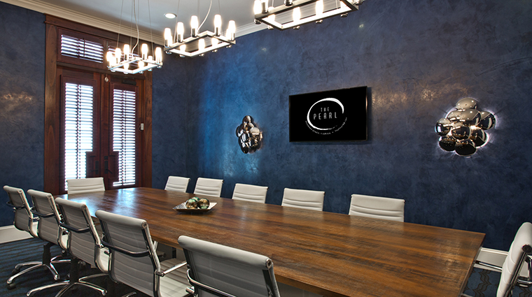 Property ThePearlHotel Hotel PublicSpaces PrivateBoardroom TheStJoeCompany