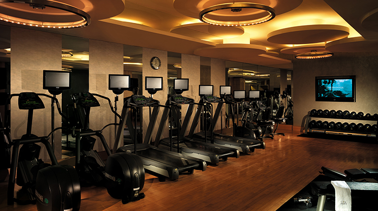 Property ThePeninsulaBangkok 10 Hotel PublicSpaces FitnessCenter CreditTheHongkongandShanghaiHotelsLimited
