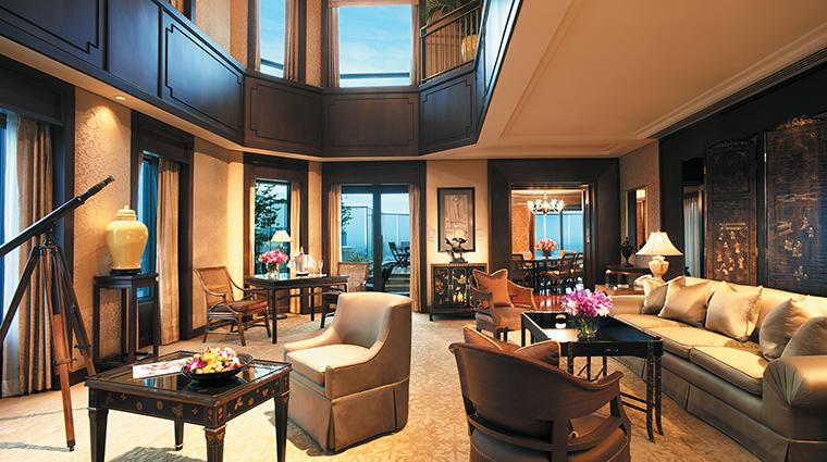 Property ThePeninsulaBangkok 3 Hotel GuestroomSuite DuplexSuite CreditTheHongkongandShanghaiHotelsLimited