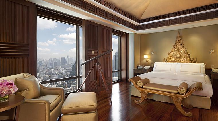 Property ThePeninsulaBangkok 4 Hotel GuestroomSuite ThaiSuite Bedroom CreditTheHongkongandShanghaiHotelsLimited