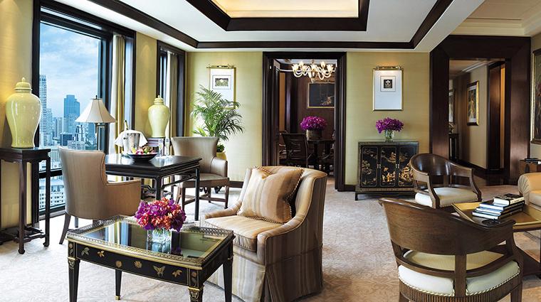 Property ThePeninsulaBangkok 5 Hotel GuestroomSuite TerraceSuite LivingRoom CreditTheHongkongandShanghaiHotelsLimited