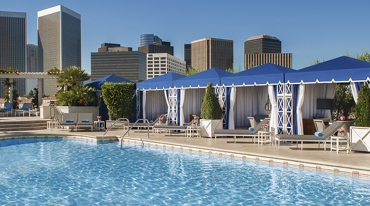 Property ThePeninsulaBeverlyHills Hotel PublicSpaces SwimmingPool ThePeninsulaHotels