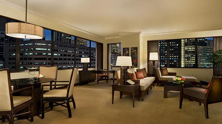 Property ThePeninsulaManila Hotel GuestroomSuite DeluxeSuiteLivingRoom ThePeninsulaHotels