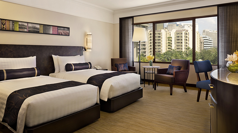 Property ThePeninsulaManila Hotel GuestroomSuite DeluxeTwin ThePeninsulaHotels