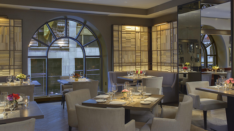 Property ThePeninsulaNewYork Hotel Dining ClementRestaurantBookRoom ThePeninsulaHotels