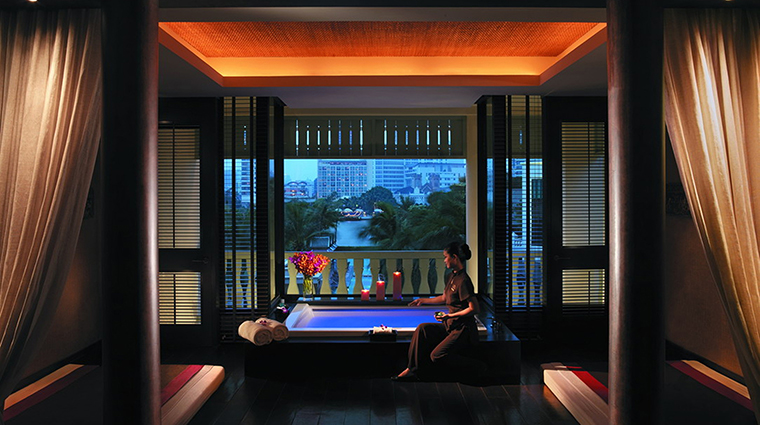 Property ThePeninsulaSpaBangkok 4 Spa Style RiverPrivateSpaSuite CreditTheHongkongandShanghaiHotelsLimited