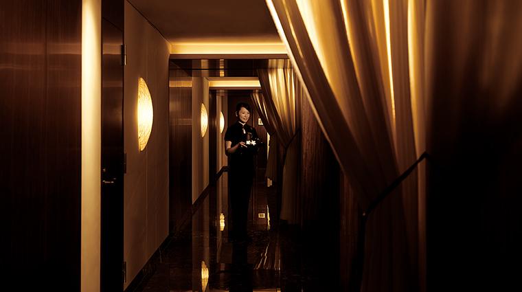 Property ThePeninsulaTokyoSpa Spa Corridor ThePeninsulaHotels