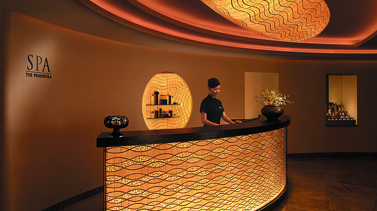 Property ThePeninsulaTokyoSpa Spa ReceptionArea ThePeninsulaHotels