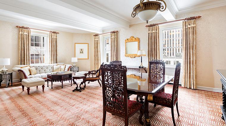 Property ThePierreATajHotel Hotel GuestroomSuite RajputSuiteLiving&DiningRoom TajHotelsResortsandPalaces