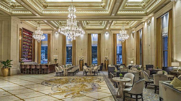 Property ThePlazaHotel Hotel PublicSpaces ChampagneBarandLobby TheFiveStarTravelCorpotation