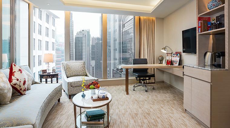 Property ThePottingerHongKong Hotel GuestroomSuite StudioSuiteLivingRoom ThePottingerHongKong