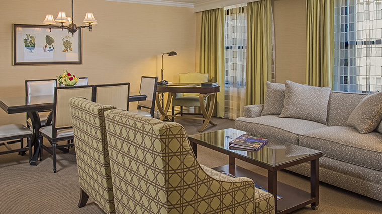 Property TheRaphaelHotel Hotel GuestroomSuite SuiteDiningRoom&LivingRoom TheRaphaelHotel