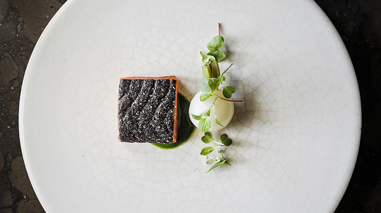 Property TheRestaurantatMeadowood Restaurant FishSkin TheRestaurantatMeadowood