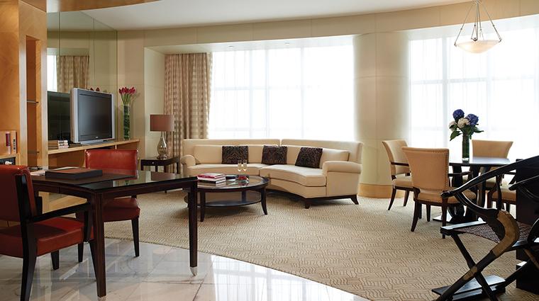 Property TheRitzCarltonBeijingFinancialDistrict Hotel GuestroomSuite ExecutiveSuiteLivingRoom TheRitzCarltonHotelCompanyLLC